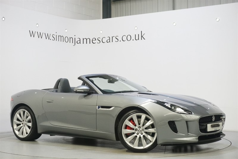 used Jaguar F-Type V8 S in derbyshire