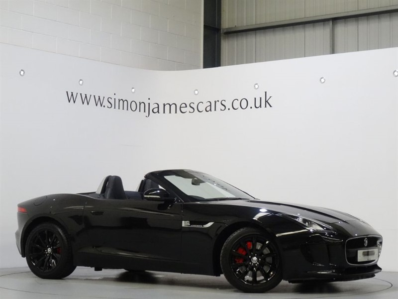 used Jaguar F-Type V6 340 in derbyshire