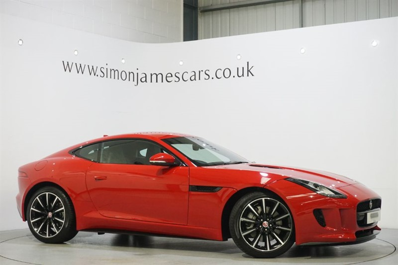 used Jaguar F-Type V6 Supercharged in derbyshire