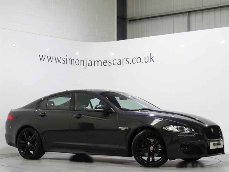 used Jaguar XF R-SPORT BLACK in derbyshire
