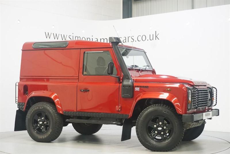 used Land Rover Defender 90 TD HARD TOP in derbyshire