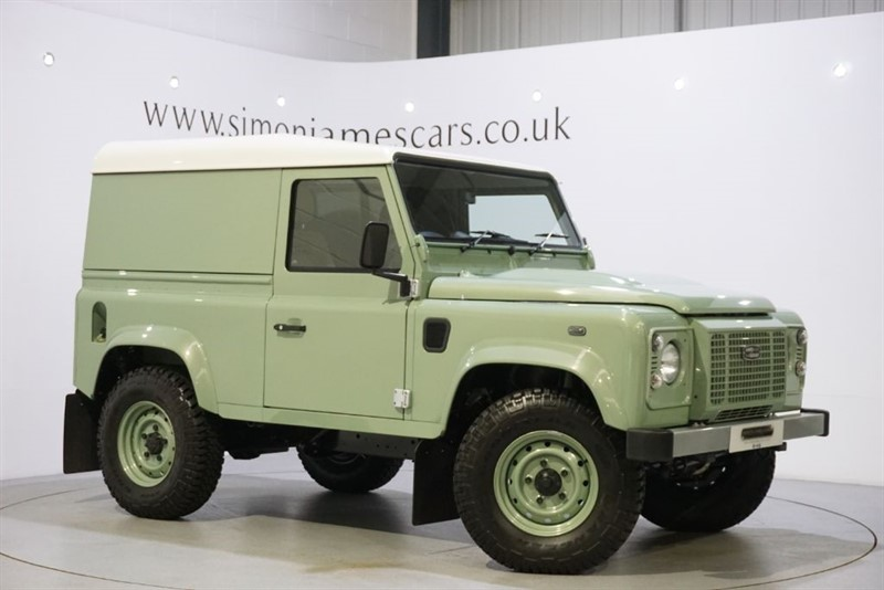 used Land Rover Defender 90 HERITAGE  in derbyshire