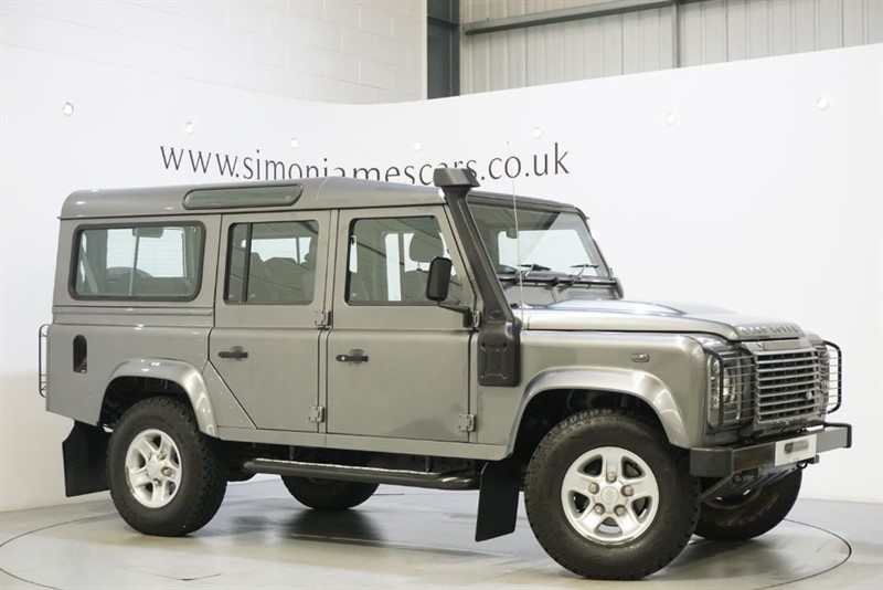 used Land Rover Defender 110 TD XS SW in derbyshire