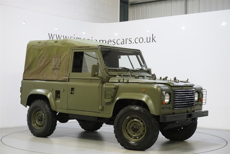 used Land Rover Defender Wolf in derbyshire