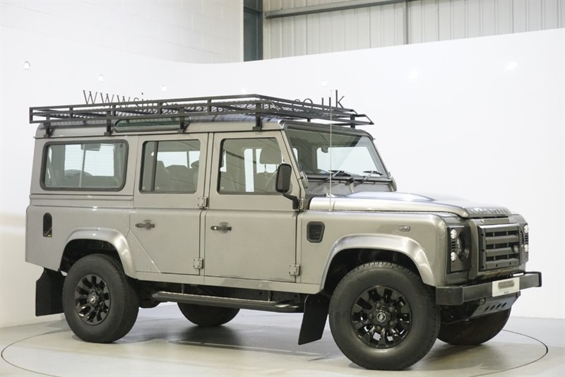 used Land Rover Defender 110 XS STATION WAGON in derbyshire