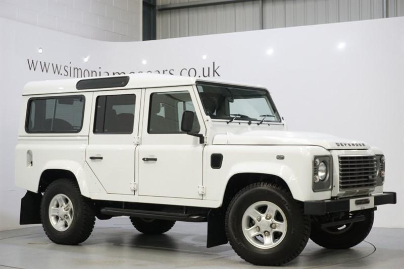 used Land Rover Defender 110 in derbyshire