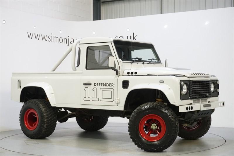 used Land Rover Defender 110 PICK UP in derbyshire