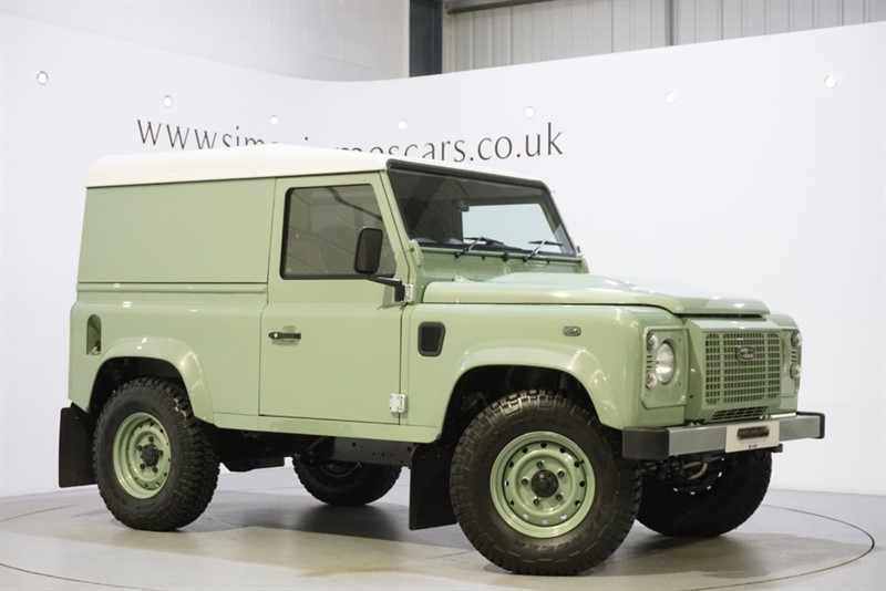 used Land Rover Defender HERITAGE in derbyshire