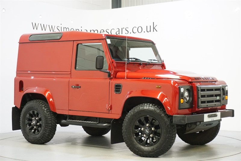 used Land Rover Defender 90 HARDTOP in derbyshire