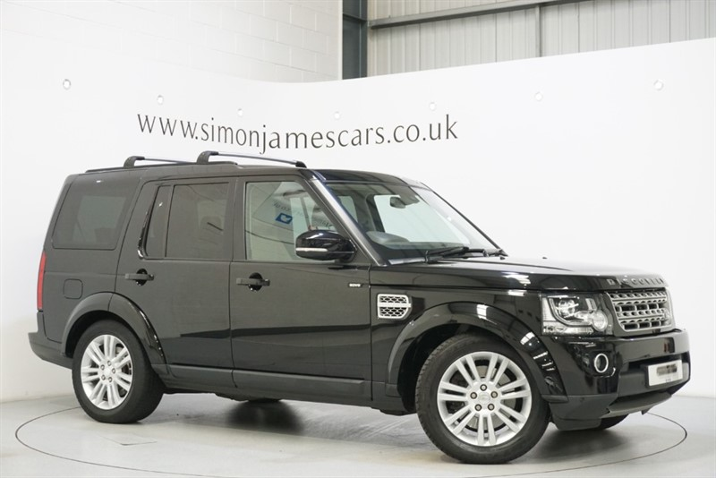 used Land Rover Discovery SDV6 HSE in derbyshire