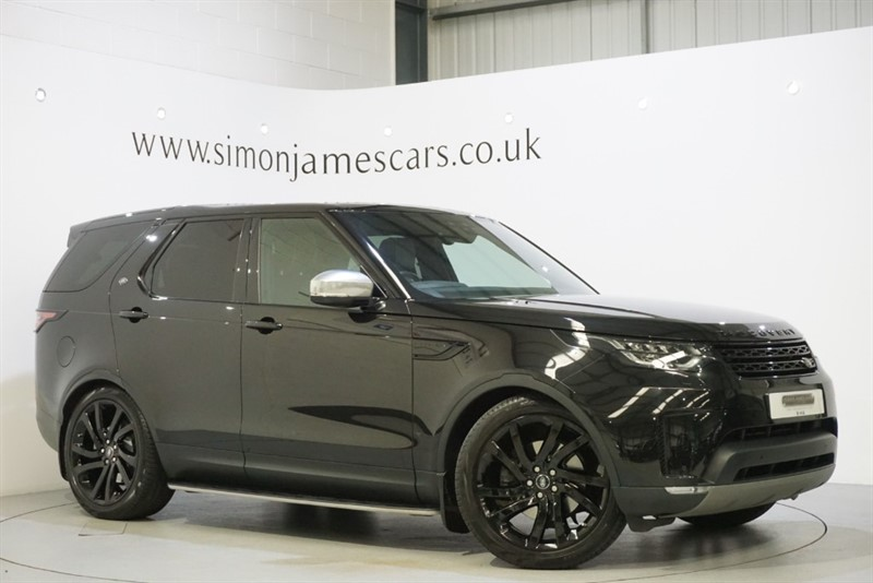 used Land Rover Discovery TD6 HSE BLACK PACK in derbyshire
