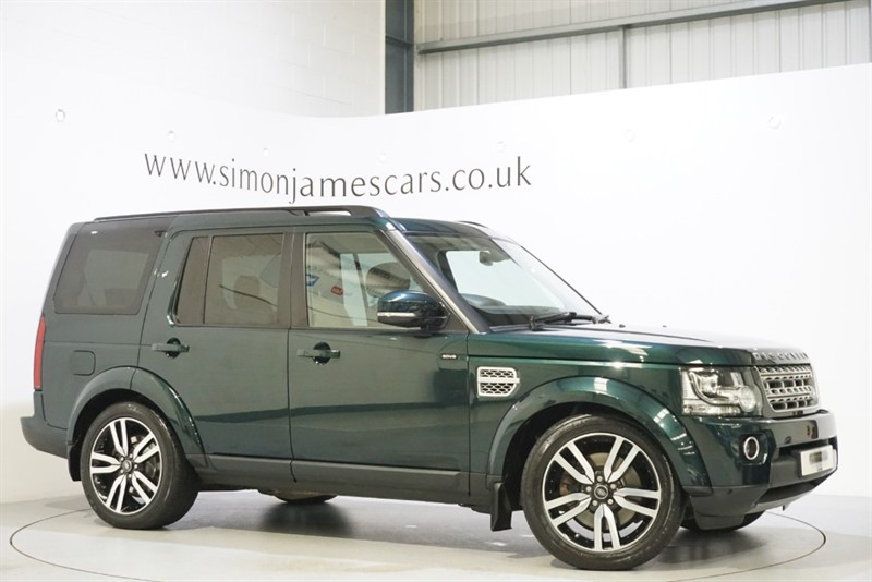 used Land Rover Discovery SDV6 HSE LUXURY in derbyshire