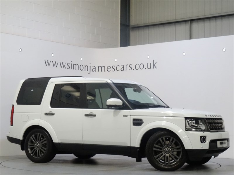 used Land Rover Discovery SDV6 GRAPHITE in derbyshire