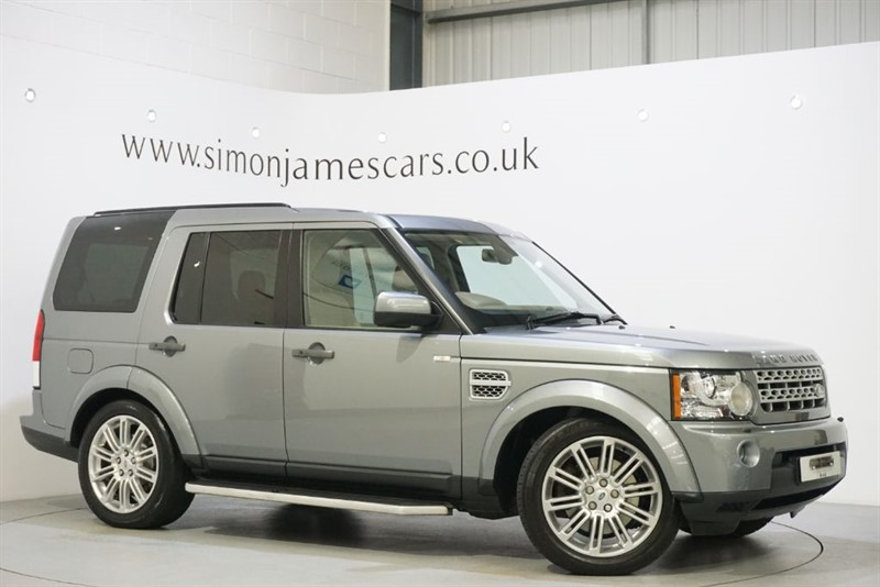 used Land Rover Discovery 4 SDV6 HSE in derbyshire