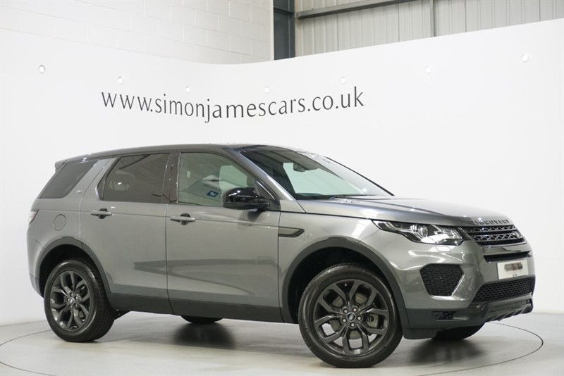 used Land Rover Discovery Sport TD4 LANDMARK in derbyshire