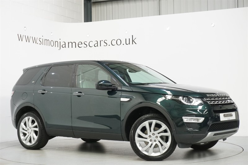 used Land Rover Discovery Sport TD4 HSE LUXURY in derbyshire