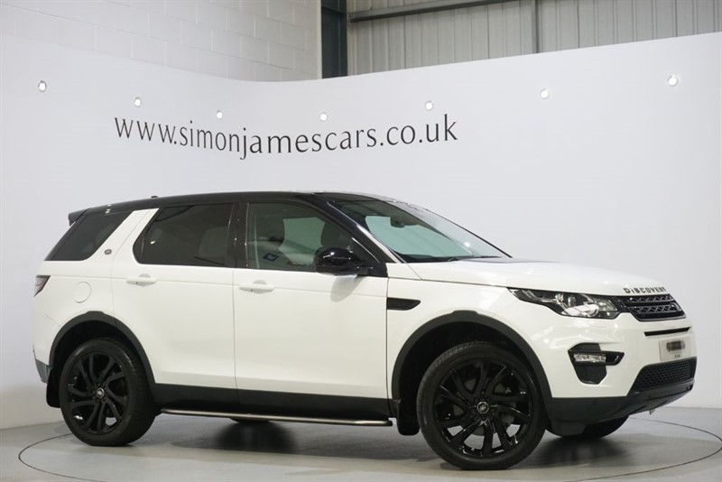used Land Rover Discovery Sport TD4 HSE BLACK in derbyshire