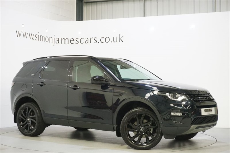 used Land Rover Discovery Sport HSE LUXURY in derbyshire
