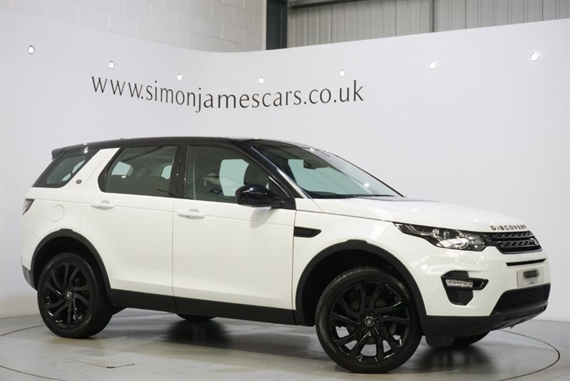 used Land Rover Discovery Sport HSE BLACK in derbyshire