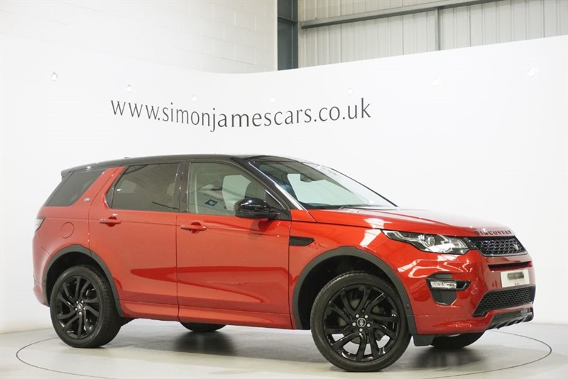used Land Rover Discovery Sport HSE DYNAMIC LUX in derbyshire