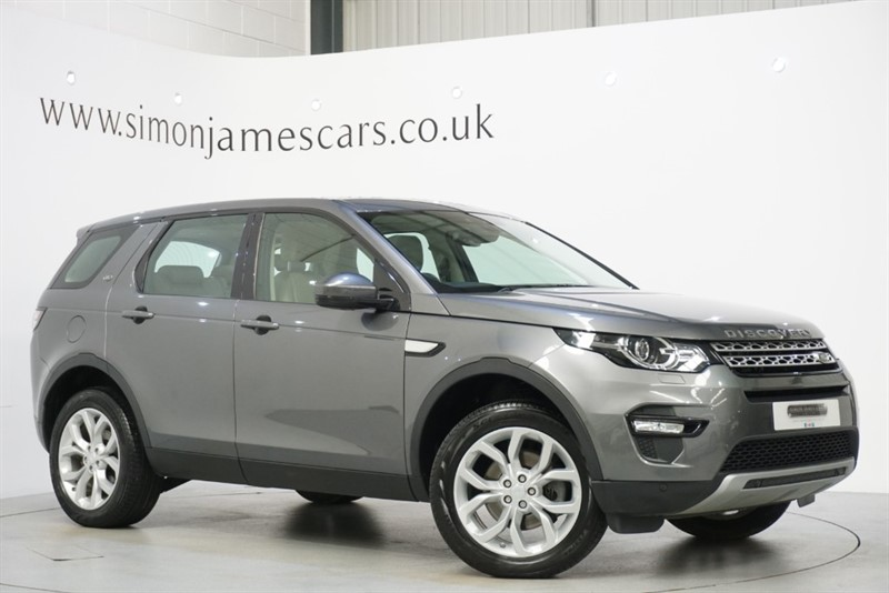 used Land Rover Discovery Sport TD4 HSE in derbyshire