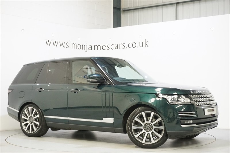 used Land Rover Range Rover A-BIOGRAPHY in derbyshire