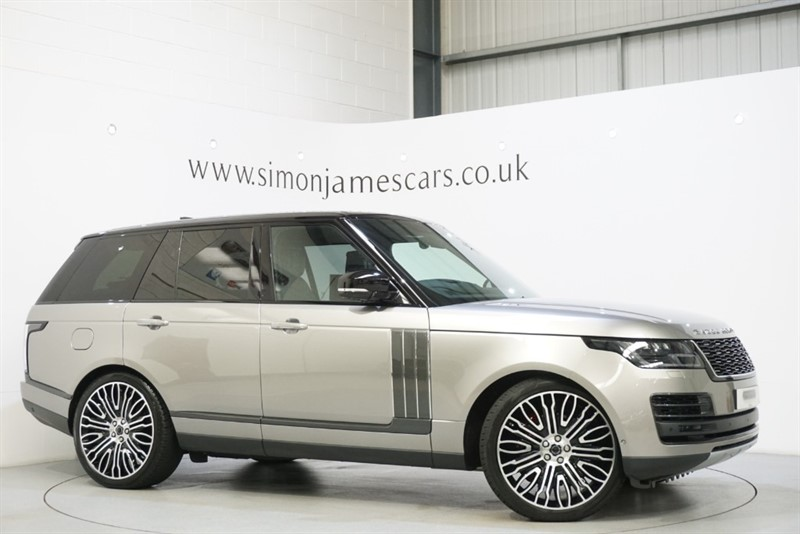 used Land Rover Range Rover SVAUTOBIOGRAPHY in derbyshire
