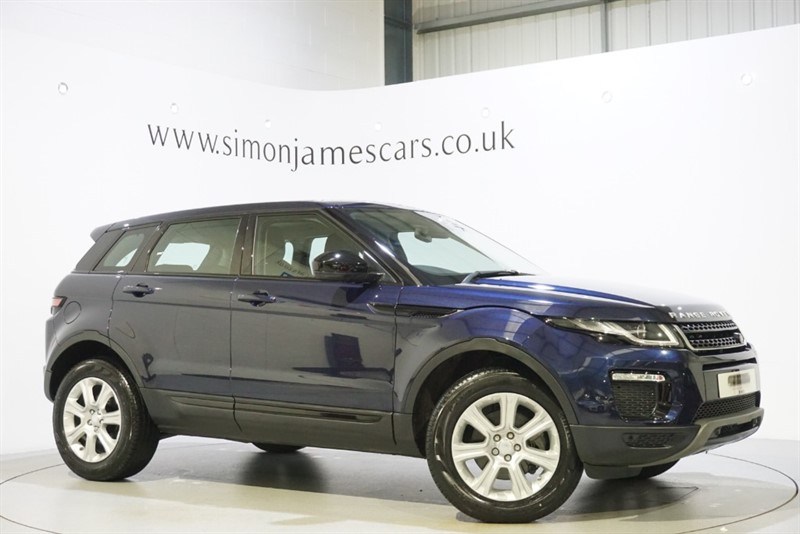 used Land Rover Range Rover Evoque TD4 SE TECH in derbyshire