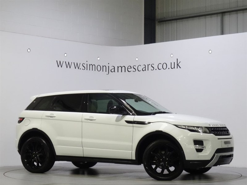 used Land Rover Range Rover Evoque SD4 DYNAMIC LUX in derbyshire