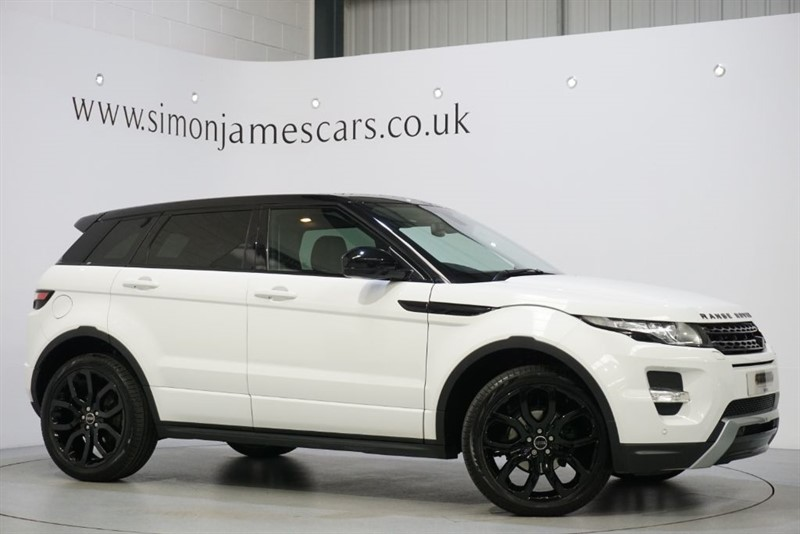used Land Rover Range Rover Evoque SD4 DYNAMIC in derbyshire