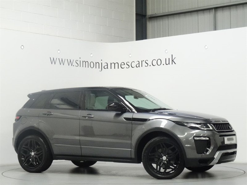 used Land Rover Range Rover Evoque TD4 HSE DYNAMIC in derbyshire