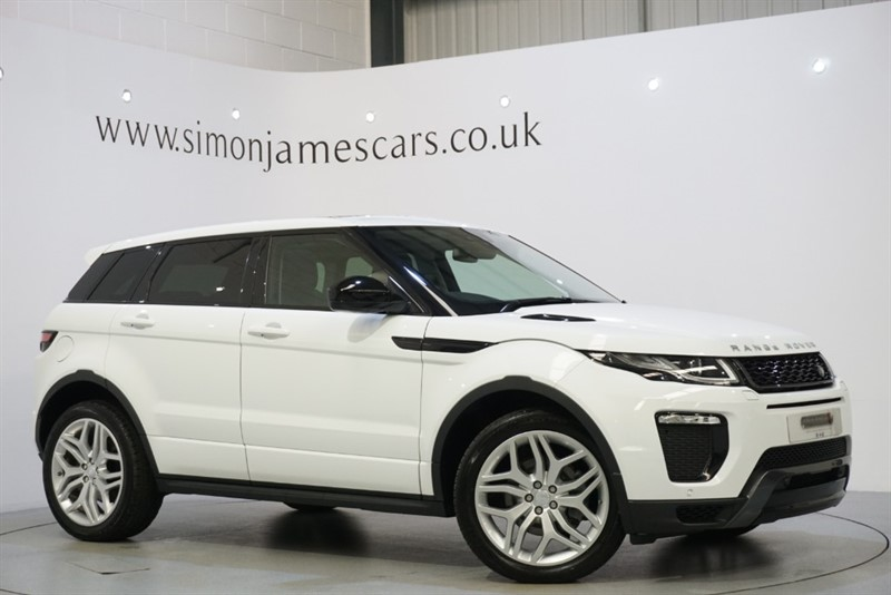 used Land Rover Range Rover Evoque HSE DYNAMIC in derbyshire