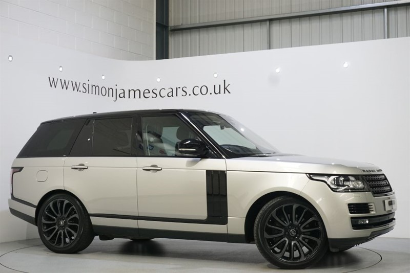 used Land Rover Range Rover AUTOBIOGRAPHY in derbyshire