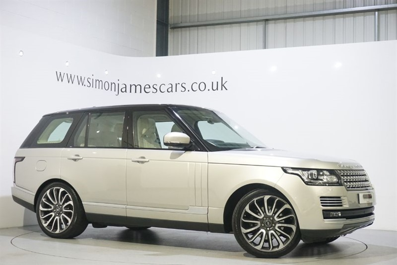 used Land Rover Range Rover TDV6 AUTOBIOGRAPHY in derbyshire