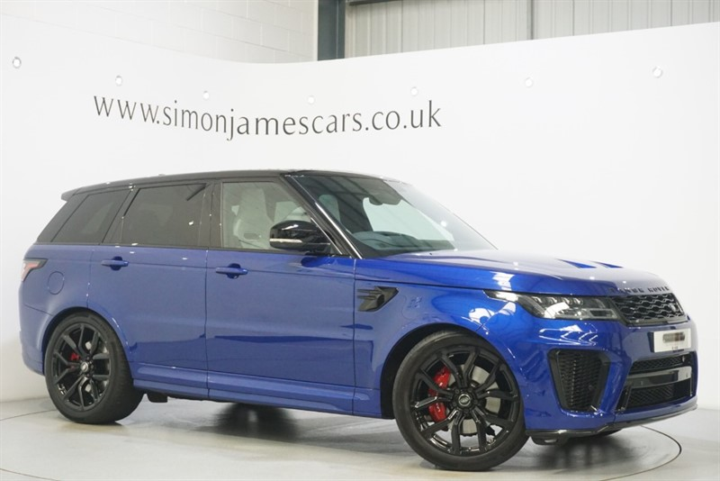used Land Rover Range Rover Sport SVR in derbyshire
