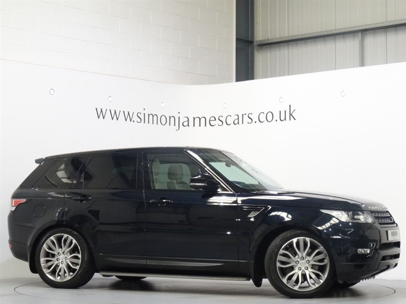 used Land Rover Range Rover Sport SDV6 HSE DYNAMIC in derbyshire