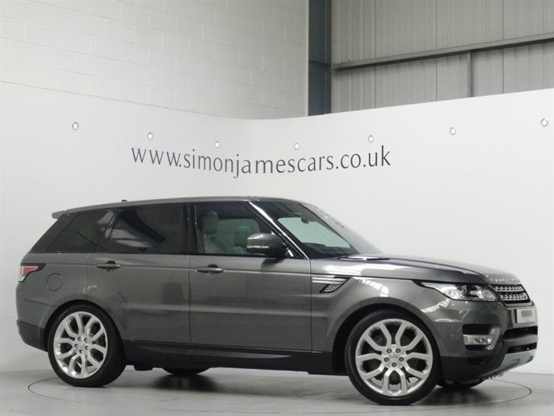 used Land Rover Range Rover Sport SDV6 HSE in derbyshire