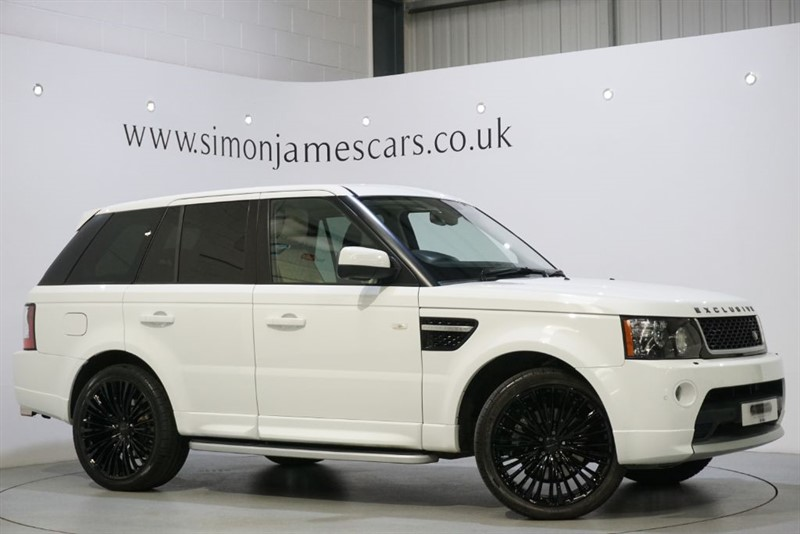 used Land Rover Range Rover Sport EXCLUSIVE in derbyshire