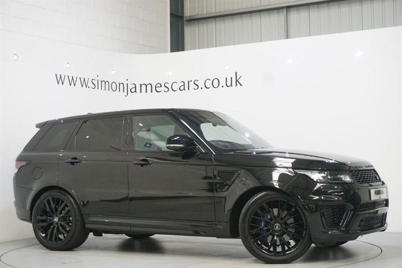 used Land Rover Range Rover Sport V8 SVR in derbyshire