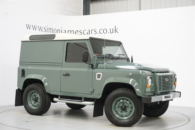 used Land Rover Defender XS HARD TOP in derbyshire