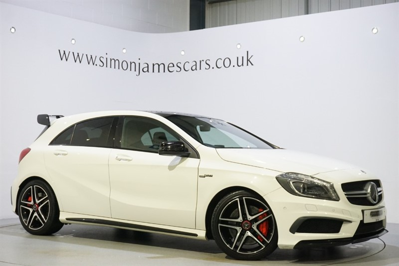 used Mercedes A45 AMG 4MATIC in derbyshire