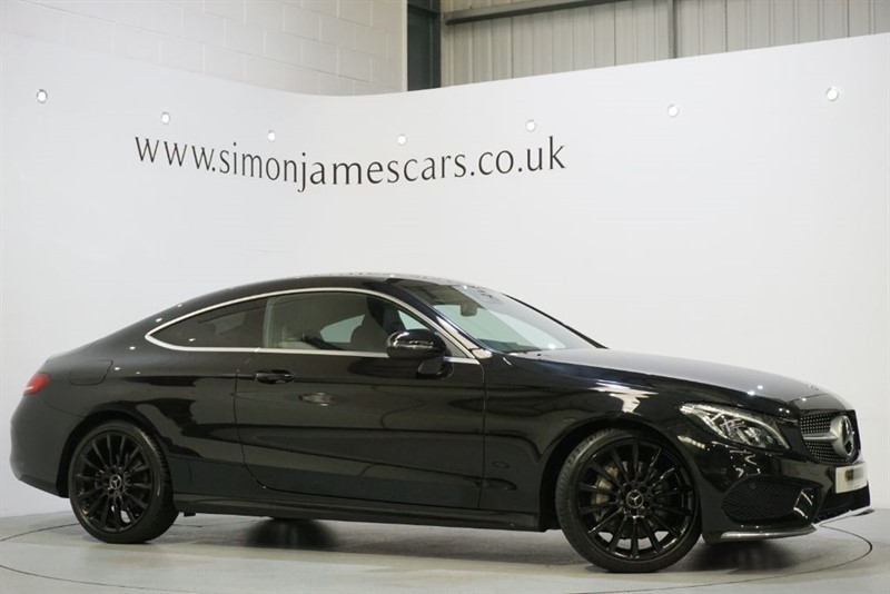 used Mercedes C300 AMG LINE in derbyshire