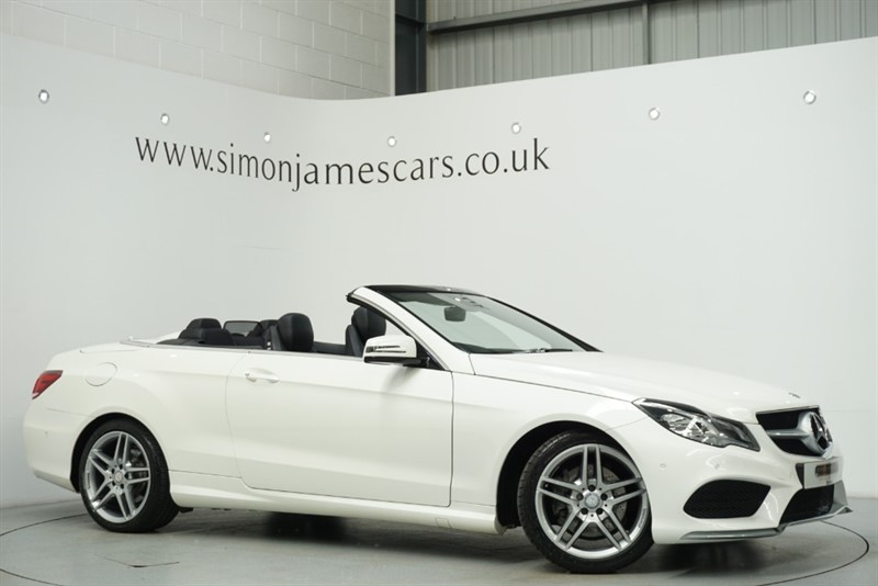 used Mercedes E200 AMG SPORT in derbyshire