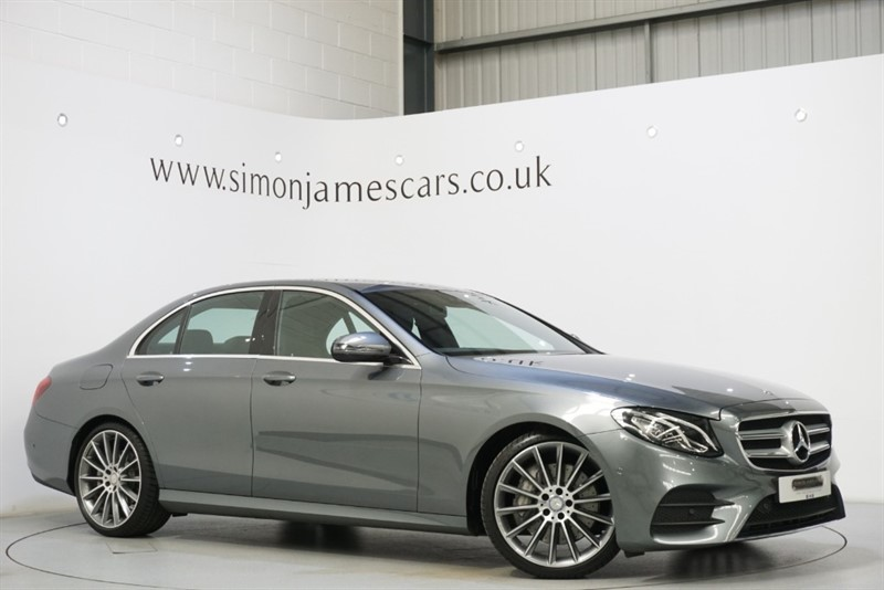 used Mercedes E350 AMG LINE in derbyshire