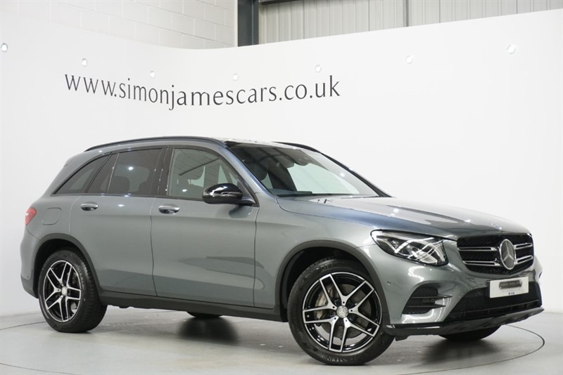 used Mercedes GLC250 AMG LINE PREMIUM in derbyshire