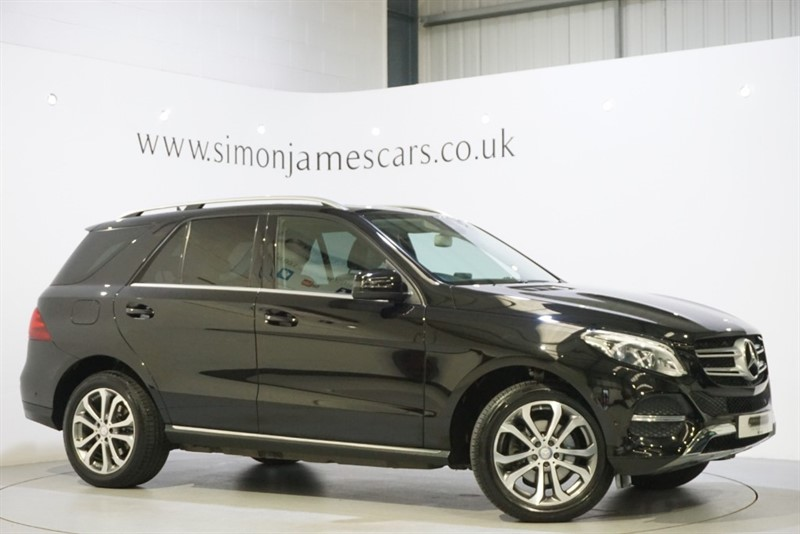 used Mercedes GLE250 4MATIC SPORT in derbyshire