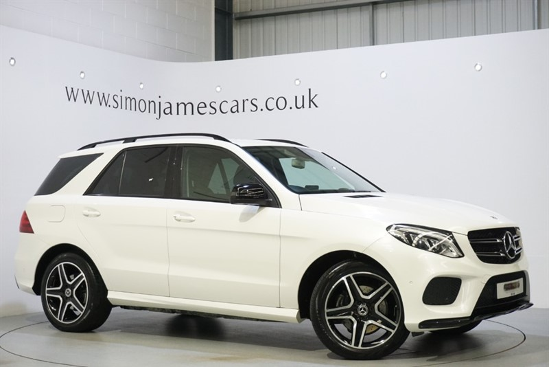 used Mercedes GLE350 4MATIC AMG LINE in derbyshire