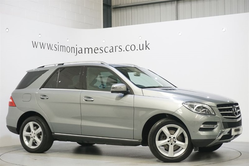 used Mercedes ML250 BLUETEC SE EXECUTIVE in derbyshire