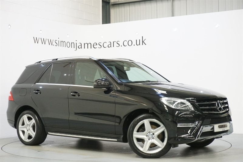 used Mercedes ML250 BLUETEC AMG LINE in derbyshire