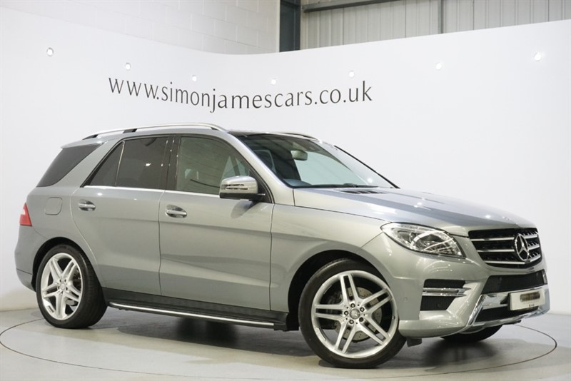 used Mercedes ML350 PREMIUM PLUS in derbyshire